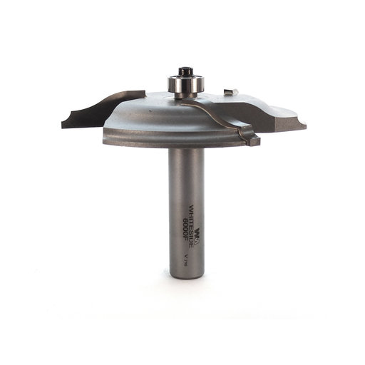 "View a Larger Image of 6000F 3-Wing Large Raised Panel Router Bit 3-3/8"" D, Ogee Bead"