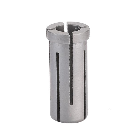 "View a Larger Image of 6400X8 Router Bit Shank Reducer 1/2"" to 8mm"
