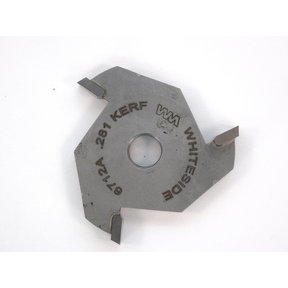"6712A 3-Wing (9/32"") Slotting Cutter Router Bit .281"""