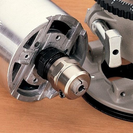 View a Larger Image of Quick Change Router Chuck for DeWalt, No. 9730