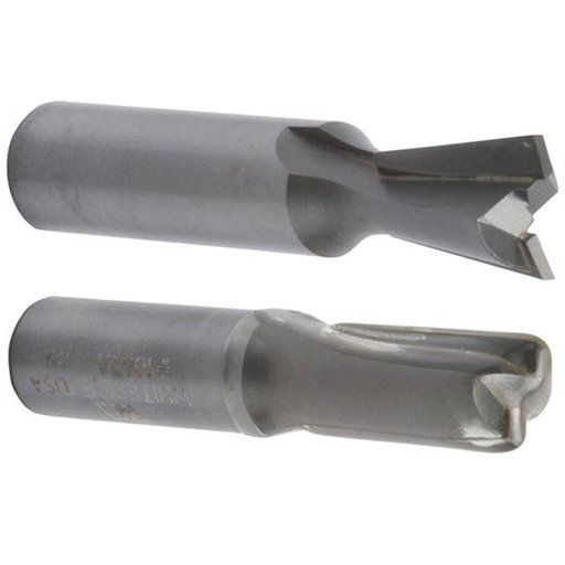 View a Larger Image of Replacement Router Bit Set Of 2 Straight And Dovetail