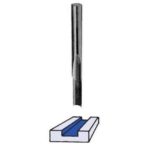 """View a Larger Image of SA1600 O-Flute Straight Router Bit 1/8"""" D X 3/8"""" CL 1/4"""" SH 2-1/2"""" OL"""