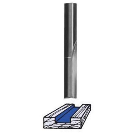 "View a Larger Image of SC04 Straight Router Bit Single Flute 3/16"" D X 1/2"" CL 1/4"" SH 1-1/2"" OL"