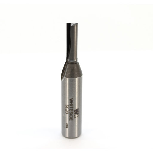 "View a Larger Image of SC20 Straight Router Bit Double Flute 1/4"" D X 3/4"" CL 1/2"" SH 2-3/4"" OL"
