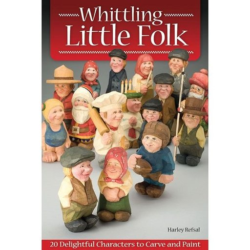 View a Larger Image of Whittling Little Folk