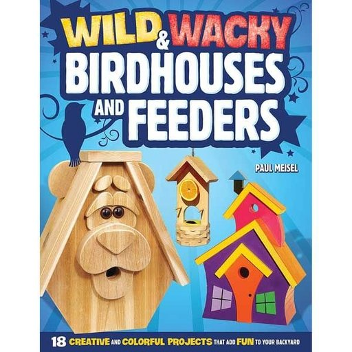 View a Larger Image of Wild and Wacky Birdhouses and Feeders