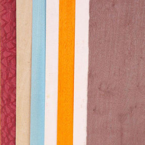 "4-1/2"" to 6-1/2"" Width 3 sq ft Pack Wild Color Dyed Wood Veneer"
