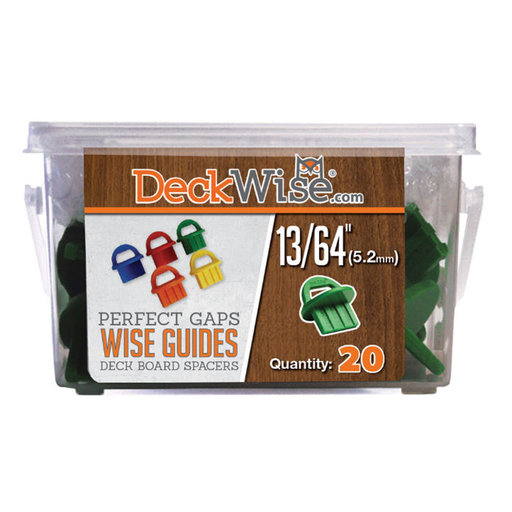 View a Larger Image of WiseGuides Decking Board Gap Spacers, 13/64 in., 20 pieces