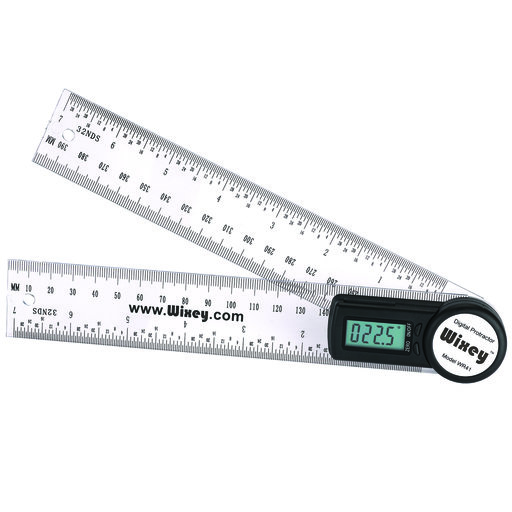View a Larger Image of 8in Digital Protractor and Rule - WR41