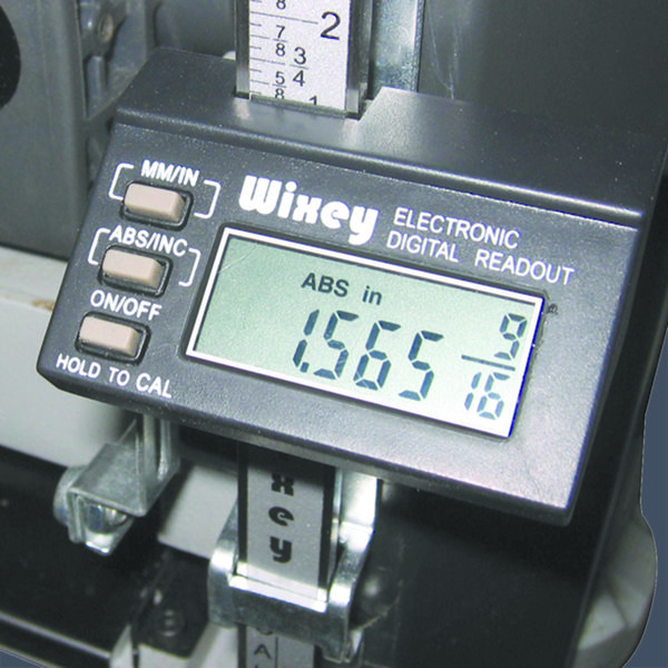 View a Larger Image of WR510 Planer Digital Readout