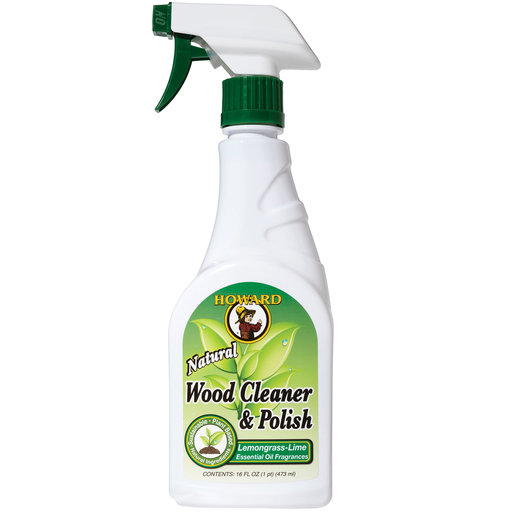 View a Larger Image of Wood Cleaner & Polish Lemongrass-Lime 16oz