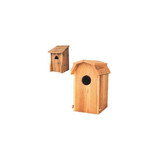 View a Larger Image of Wood Duck Houses Woodworking Plan
