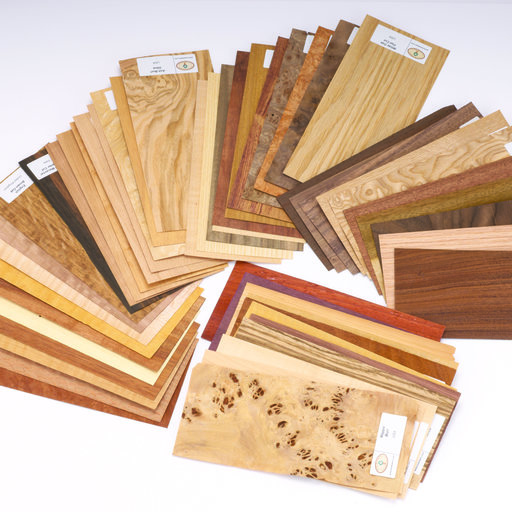 View a Larger Image of Wood Identification Kit, Veneer Sample Pack 50-piece