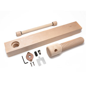 Wood Shoulder Vise Screw - Standard Kit (Vintage Finish)