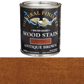 Wood Stain, Water Based, Antique Brown Stain Pint