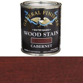 Wood Stain, Water Based, Cabernet Stain Pint
