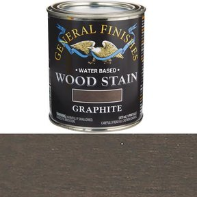 Wood Stain, Water Based, Graphite Stain Pint