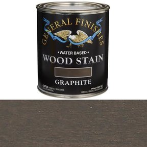 Wood Stain, Water Based, Graphite Stain Quart