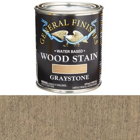 Wood Stain, Water Based, Graystone Stain Pint