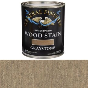 Wood Stain, Water Based, Graystone Stain Quart