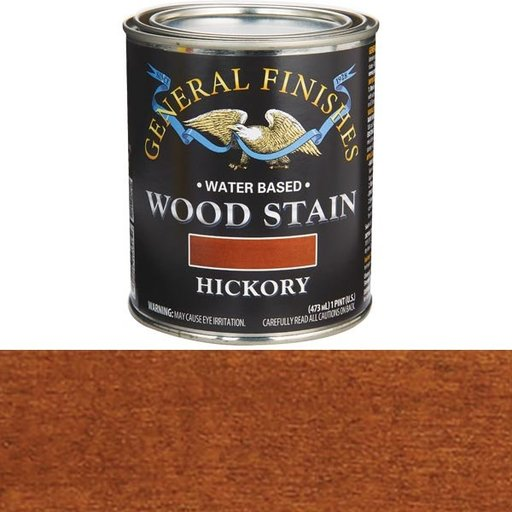 View a Larger Image of Wood Stain, Water Based, Hickory Stain Pint