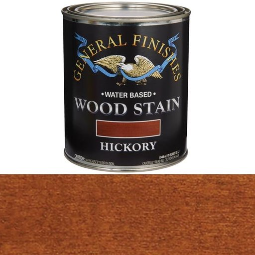 View a Larger Image of Wood Stain, Water Based, Hickory Stain Quart