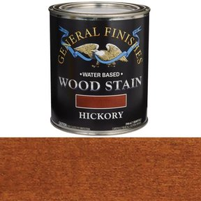 Wood Stain, Water Based, Hickory Stain Quart