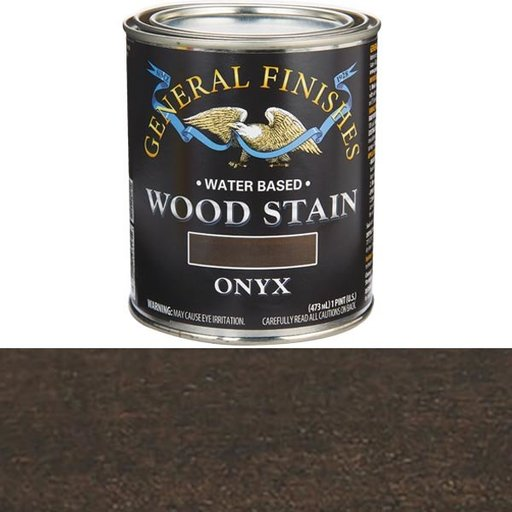 View a Larger Image of Wood Stain, Water Based, Onyx Stain Pint