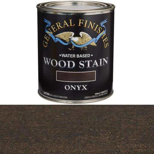 View a Larger Image of Wood Stain, Water Based, Onyx Stain Quart