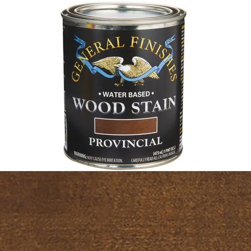 View a Larger Image of Wood Stain, Water Based, Provincial Stain Pint