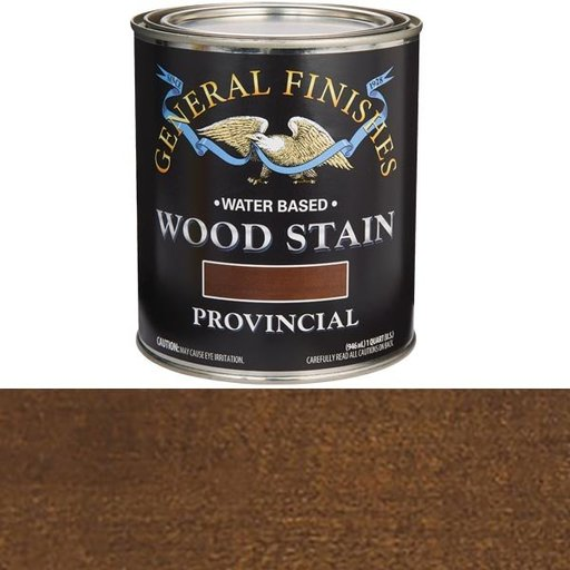 View a Larger Image of Wood Stain, Water Based, Provincial Stain Quart