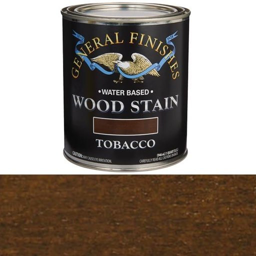 View a Larger Image of Wood Stain, Water Based, Tobaco Stain Quart