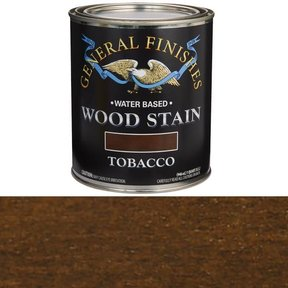 Wood Stain, Water Based, Tobaco Stain Quart