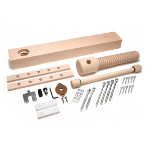 Wood Wagon Vise Screw - Premium Kit (Vintage Finish)