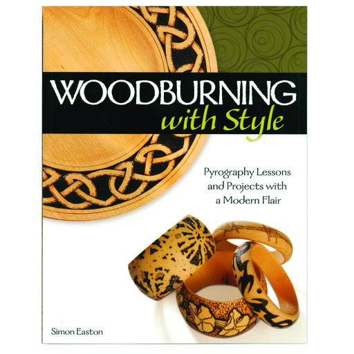 View a Larger Image of Woodburning with Style: Pyrography Lessons and Projects with a Modern Flair