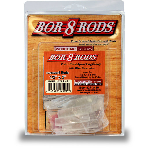 "View a Larger Image of Bor-8-Rods, 1/2"" x 2"", Box of 100"