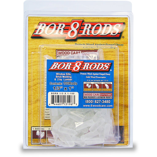 "View a Larger Image of Bor-8-Rods, 1/3"" x 1"", Box of 100"