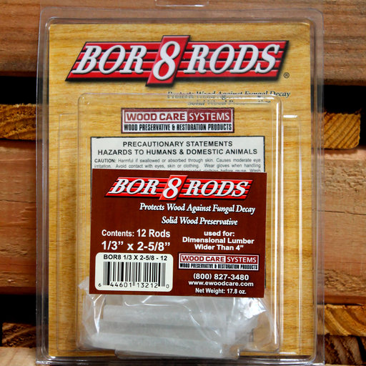 "View a Larger Image of Bor-8-Rods, 1/3"" x 2-5/8"", Box of 100"