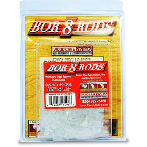 "Bor-8-Rods, 1/4"" x 1/2"", Box of 100"