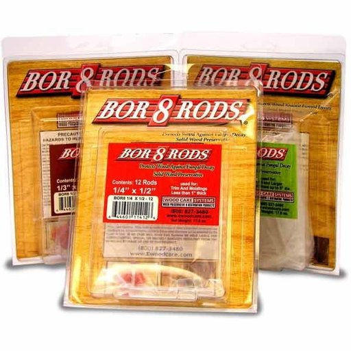 "View a Larger Image of Bor-8-Rods, 3/4"" x 3"", Box of 100"