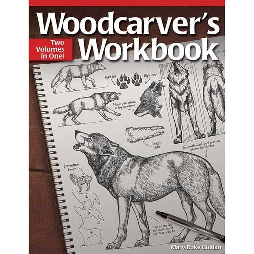 View a Larger Image of Woodcarver's Workbook