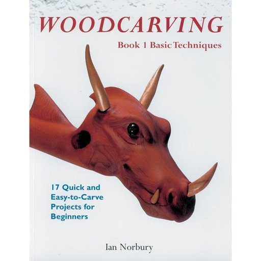 View a Larger Image of Woodcarving, Book 1: Basic Techniques