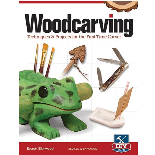 View a Larger Image of Woodcarving,  Revised & Expanded