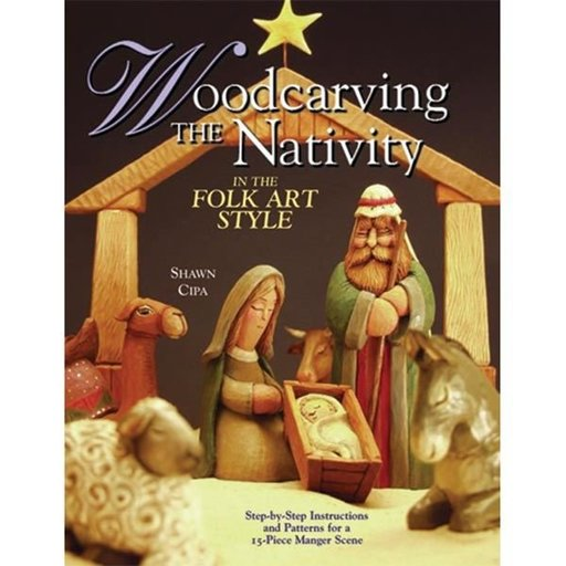 View a Larger Image of Woodcarving The Nativity