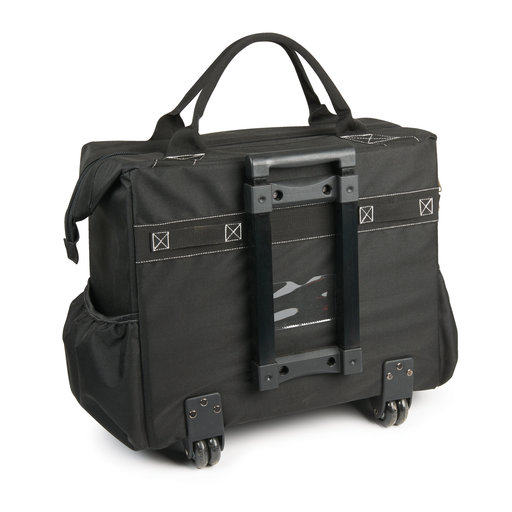 "View a Larger Image of Woodcraft 18"" Rolling Tool Bag, Black"