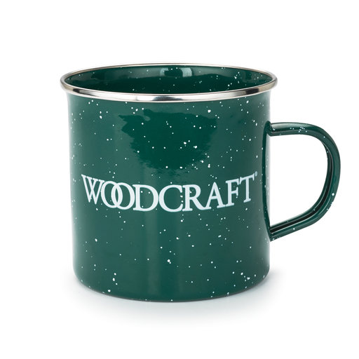 View a Larger Image of Woodcraft 19-ounce Enamel Mug