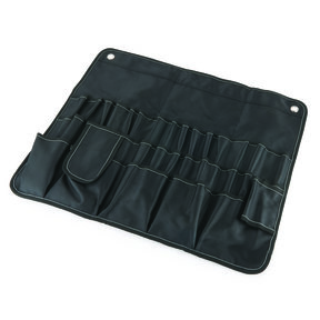 30 Pocket Tool Roll, Black