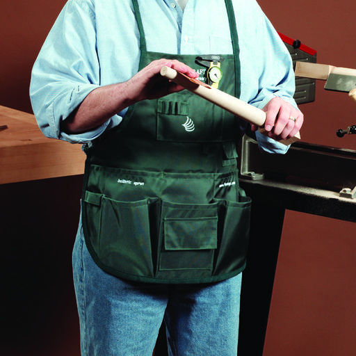 View a Larger Image of Ballistic Shop Apron, Green