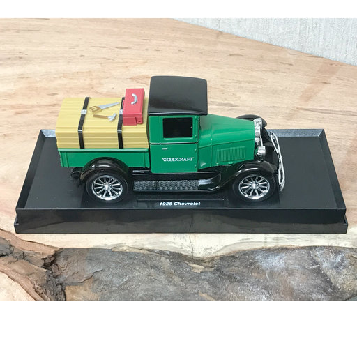 View a Larger Image of Woodcraft Diecast Truck Bank