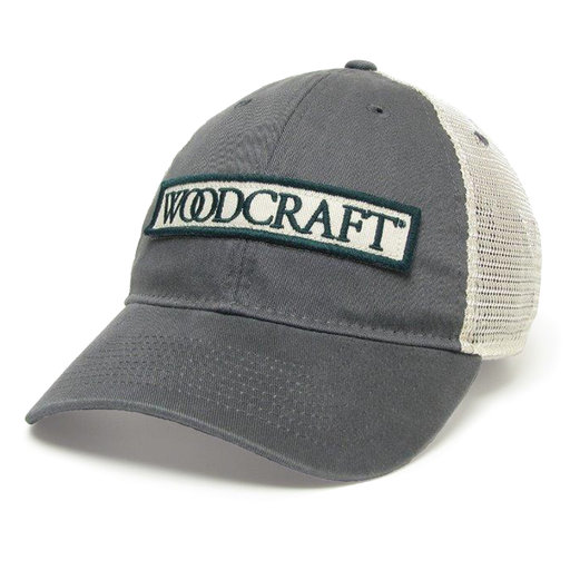 View a Larger Image of Woodcraft Dk Grey Trucker Hat